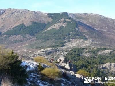 Senderismo Sierra de la Cabrera; senderismo en la pedriza; senderismo por guadalajara